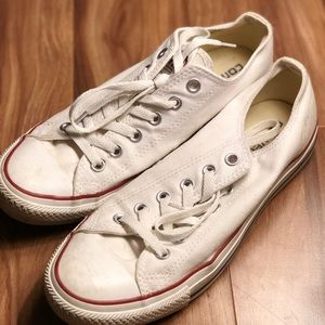 Converse All Star Low Top White W9 M7